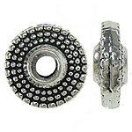 Zinc Alloy Jewelry Beads, Rondelle, 8x3mm, Hole:Approx 2.5mm, Approx 1600PCs/KG, Sold By KG