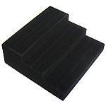 Baumwollsamt Ringständer, Leiter, schwarz, 260x240x95mm, 3PC/Menge, verkauft von Menge