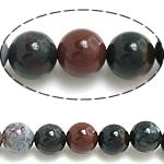 Natürliche Indian Achat Perlen, Indischer Achat, rund, 14mm, Bohrung:ca. 1.5mm, ca. 27PCs/Strang, verkauft per ca. 15.5 ZollInch Strang