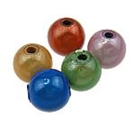 Traumhafte Acrylperlen, Acryl, rund, gemischte Farben, 8mm, Bohrung:ca. 2mm, 1750PCs/Tasche, verkauft von Tasche