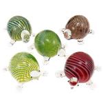 Mode Dekoration, Lampwork, Schildkröter, gemischte Farben, 45x57x43.5mm, 53x66.5x27mm, 5PCs/Menge, verkauft von Menge