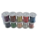 Kupferdraht, Kupfer, mit Kunststoffspule, gemischte Farben, frei von Nickel, Blei & Kadmium, 0.30mm, Länge:100 m, 10PCs/Menge, verkauft von Menge