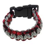 Überleben Armbänder, Nylonschnur, mit Kunststoff, farbenfroh, 21mm, Länge:7.5 ZollInch, 12SträngeStrang/Tasche, verkauft von Tasche
