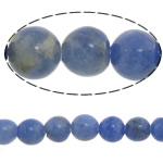Sodalith Perlen, Sosalith, rund, natürlich, blau, 4mm, Länge:ca. 15 ZollInch, 10SträngeStrang/Menge, verkauft von Menge