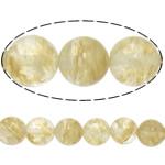 Kaffee Stein Perlen, rund, natürlich, 8mm, Bohrung:ca. 1mm, Länge:ca. 15 ZollInch, 20SträngeStrang/Menge, ca. 46PCs/Strang, verkauft von Menge