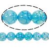 Natürliche Drachen Venen Achat Perlen, Drachenvenen Achat, rund, 8mm, Bohrung:ca. 1.5mm, Länge:15 ZollInch, 10SträngeStrang/Menge, verkauft von Menge
