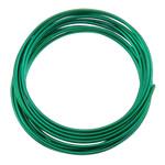 Aluminium Draht, Elektrophorese, grün, 2mm, Länge:ca. 30 m, 10PCs/Tasche, verkauft von Tasche