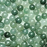 Jadeit Perlen, rund, natürlich, glatt, 5-5.5mm, Bohrung:ca. 1-2mm, 100PCs/Tasche, verkauft von Tasche
