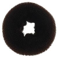 Haarknoten Dutt Dreher, Nylon, Kreisring, braun, 69x30mm, 10PCs/Tasche, verkauft von Tasche