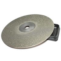 Diamant Scheibe, flache Runde, 600 Splitt, 150x1mm, Innendurchmesser:ca. 12.7mm, 6PCs/Menge, verkauft von Menge