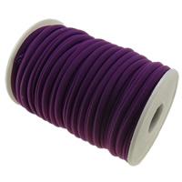 Elastisches Garn, Nylon, violett, 4mm, Länge:ca. 20 m, verkauft von PC
