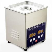 Edelstahl Digitaler Ultraschallreiniger, Rechteck, 180x165x205mm, Bohrung:ca. 20mm, verkauft von PC