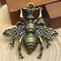 Zinklegierung Tier Anhänger, antike Bronzefarbe plattiert, frei von Nickel, Blei & Kadmium, 27mm, Bohrung:ca. 1.5-2mm, 300PCs/Menge, verkauft von Menge