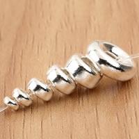 990 Sterling Silber Zwischenperlen, Rondell, verschiedene Größen vorhanden, verkauft von Tasche