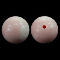 Riesenmuscheln Perlen, Riesenmuschel, rund, Rosa, 16mm, Bohrung:ca. 2mm, 30PCs/Menge, verkauft von Menge