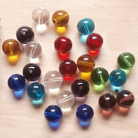 Round Crystal Beads mixed colors Approx 1-1.5mm Approx Sold By Bag