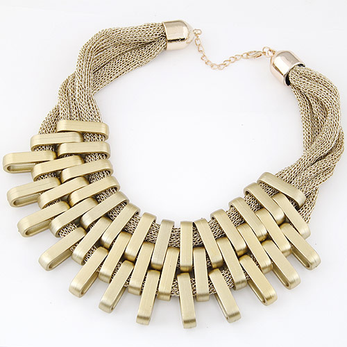 Verkupfter Kunststoff Halsketten, Verkupferter Kunststoff, plattiert, Goldfarbe, frei von Blei & Kadmium, 400mm, verkauft per ca. 15.75 ZollInch Strang