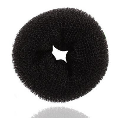 Haarknoten Dutt Dreher, Nylon, schwarz, 93x42mm, verkauft von PC