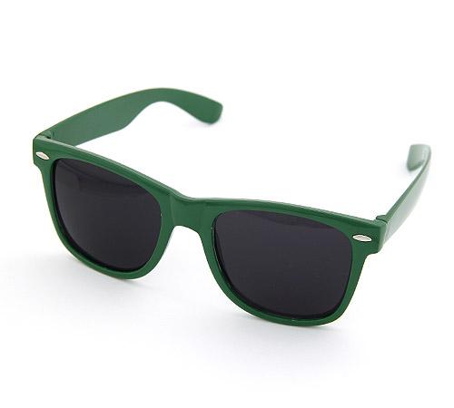 Harz Sonnenbrille, dunkelgrün, 140x50mm, verkauft von PC