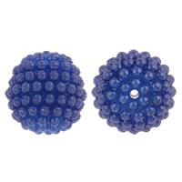 Kunststoffperlen, Kunststoff, rund, Demontage und Montage & Volltonfarbe, keine, 20mm, Bohrung:ca. 2mm, 100PCs/Tasche, verkauft von Tasche