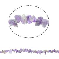 Natürliche Amethyst Perlen, Bruchstück, Februar Birthstone, 5-8mm, Bohrung:ca. 0.8mm, ca. 260PCs/Strang, verkauft per ca. 33 ZollInch Strang