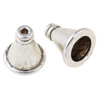 Zinklegierung Kegel Perlen, antik silberfarben plattiert, frei von Nickel, Blei & Kadmium, 11x9.5mm, Bohrung:ca. 1mm, 6.5mm, ca. 667PCs/kg, verkauft von kg