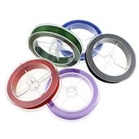 Elastisches Garn, elastischer Faden, mit Kunststoffspule, keine, 1mm, 10PCs/Menge, 80m/PC, verkauft von Menge