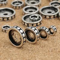 Thailand Zwischenperlen, Kreisring, verschiedene Größen vorhanden, verkauft von Menge
