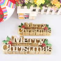 Weihnachtsangebot, PVC Kunststoff, Buchstabe, Wort Frohe Weihnachten, Weihnachtsschmuck & verschiedene Größen vorhanden, 50PCs/Menge, verkauft von Menge