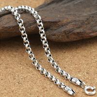Thailand Kette Halskette, unterschiedliche Länge der Wahl & Rolo Kette, 3mm, verkauft von Menge