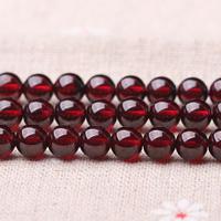 Natürlicher Granat Perlen, rund, Januar Birthstone & verschiedene Größen vorhanden, Grad AAAA, verkauft per ca. 15 ZollInch Strang