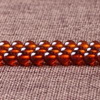 Natürlicher Granat Perlen, rund, Januar Birthstone & verschiedene Größen vorhanden, Grade AAAAA, verkauft per ca. 15 ZollInch Strang