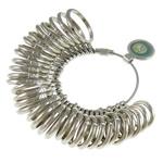 Zinklegierung Ringgröße, Nickel plattiert, frei von Nickel, Blei & Kadmium, 16.5x25x3mm-28x36x3mm, Bohrung:ca. 12.5-23.8mm, 33PCs/setzen, verkauft von setzen