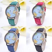 Damen Armbanduhr, Zinklegierung, mit Segeltuch & Glas, antike Bronzefarbe plattiert, einstellbar & für Frau, keine, frei von Nickel, Blei & Kadmium, 38mm, 18mm, Länge:ca. 9 ZollInch, verkauft von PC