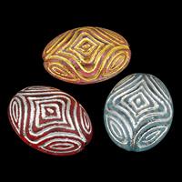Gemischte Acrylperlen, Acryl, transparent, 18x24x9mm, Bohrung:ca. 1mm, ca. 230PCs/Tasche, verkauft von Tasche