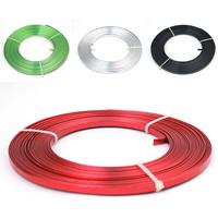 Aluminium Draht, Elektrophorese, keine, frei von Nickel, Blei & Kadmium, 5x1mm, 10m/PC, verkauft von PC