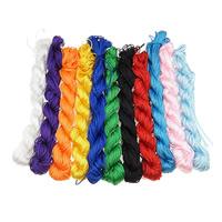 Polyester Schnur, keine, 1mm, Länge:ca. 2100-2200 m, 5Taschen/Box, 10PCs/Tasche, verkauft von Box