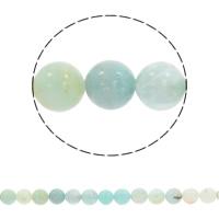 Amazonit Perlen, rund, synthetisch, verschiedene Größen vorhanden, Bohrung:ca. 1mm, verkauft per ca. 15 ZollInch Strang