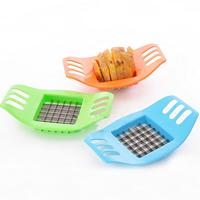 Kunststoff Küche-Stripe-Cutter, mit Edelstahl, gemischte Farben, 170x100mm, 3PCs/Menge, verkauft von Menge