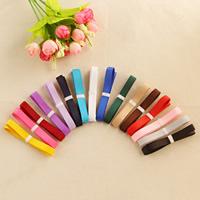Ripsband, gemischte Farben, 9mm, 100SträngeStrang/Tasche, 1m/Strang, verkauft von Tasche
