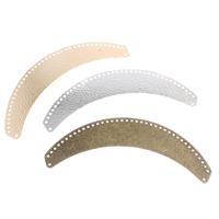 Eisen Schmuckverbinder, plattiert, Multi-Schleifen, keine, frei von Nickel, Blei & Kadmium, 128x44x1mm, Bohrung:ca. 1mm, verkauft von PC