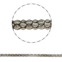 Eisen Schmuckketten, Laterne Kette, originale Farbe, frei von Nickel, Blei & Kadmium, 6mm, ca. 30m/Tasche, verkauft von Tasche