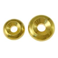Zinklegierung Zwischenperlen, Messing, goldfarben plattiert, verschiedene Größen vorhanden, frei von Nickel, Blei & Kadmium, 500PCs/Menge, verkauft von Menge