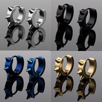 Huggie Ohrreifen, Edelstahl, plattiert, keine, 13x4mm, 3PaarePärchen/Tasche, verkauft von Tasche