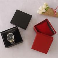 Karton Uhrkasten, mit Schwamm, Rechteck, keine, 87x80x53mm, 100PCs/Menge, verkauft von Menge