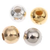 Eisen Schmuckperlen , plattiert, verschiedene Größen vorhanden, keine, frei von Nickel, Blei & Kadmium, verkauft von Tasche