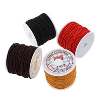 Elastisches Garn, Nylon, mit Kunststoffspule, keine, 0.80mm, 25PCs/Tasche, ca. 26m/PC, verkauft von Tasche