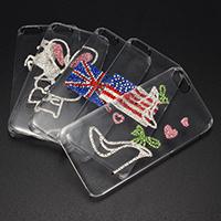 Handy-Fällen, Kunststoff, mit Ton, für iPhone 5 & verschiedene Muster für Wahl, verkauft von PC