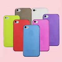 Handy-Fällen, PC Kunststoff, Rechteck, für iPhone5/5 s & transparent & Falten, keine, frei von Nickel, Blei & Kadmium, verkauft von PC