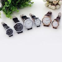 Ehepaar Uhrenarmbänder, PU Leder, mit Zinklegierung Zifferblatt & Glas, plattiert, verschiedene Größen vorhanden & wasserdicht & für paar, keine, verkauft von PC